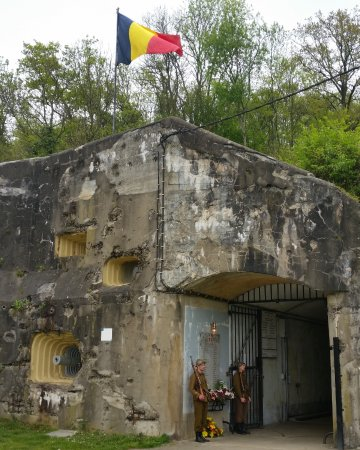 Eben-Emael, Bélgica: Entrance of the underground fort