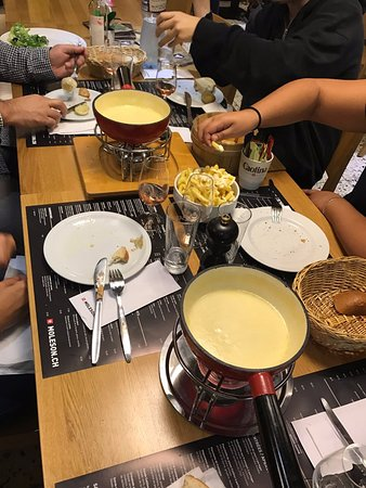 Moleson, Switzerland: fondues