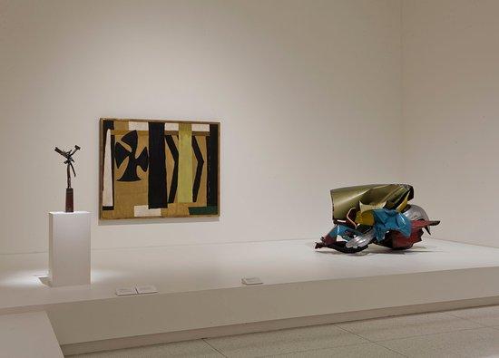 Smart Museum of Art: An installation of Modern art at the Smart Museum