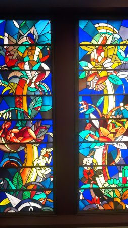 Museum of Applied Art (Kunstgewerbemuseum): Stained Glass