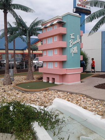 Shoot For the Stars Mini Golf: Every hole has a theme; push a button and hear a character