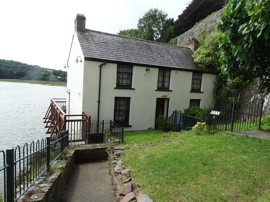Laugharne, UK: Boat House, the home of Dylan Thomas during the last four years of his life