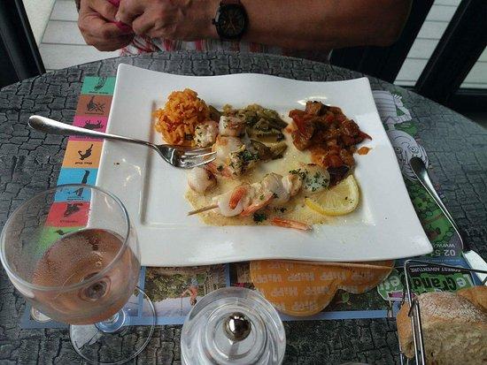 Restaurant la coquille jard sur mer restaurant reviews for Jard sur mer restaurant