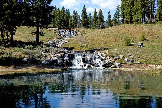 Portola, CA: Grizzly Ranch, 18th Fairway