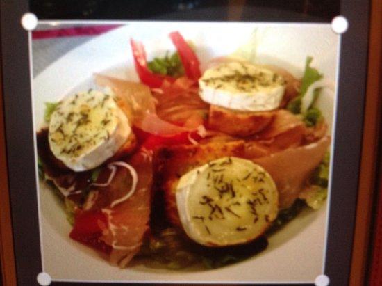 Quettehou, France: Salade du berger