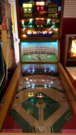 Best Baseball Arcade Game Ever Picture Of Pinball Hall Of Fame