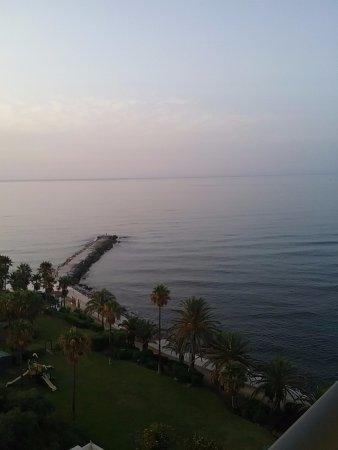 THB Torrequebrada Hotel: Au lever du soleil