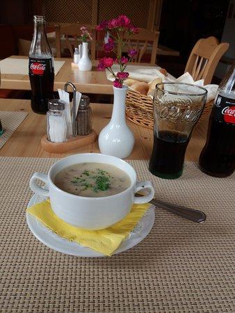 Hotel Zlata Lipa: Tagessuppe