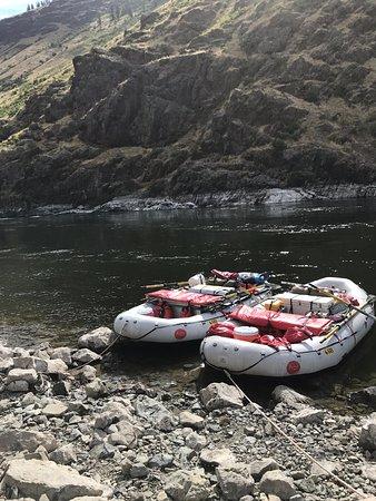 McCall, ID: Two oar rafts
