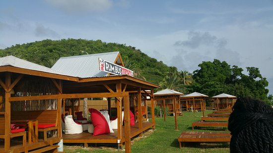Crab Hill, Antigua: Beautiful setting right on the beach front, what more can you ask for. Caribbean sunset is the b