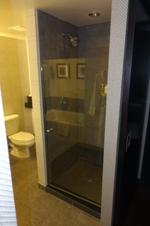 Stand alone shower, Room 503 - Picture of The Liberty, A Luxury ...