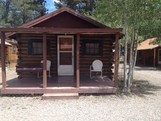 South Fork, CO: Exterior of Smaller Cabin