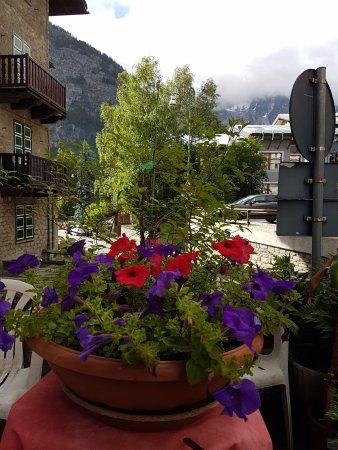 Vista do Aubergue em Courmayer - Picture of Ristorante La Terrazza ...