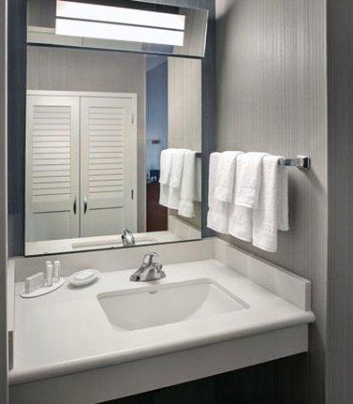 Plymouth Meeting, PA: Guest Bathroom Vanity