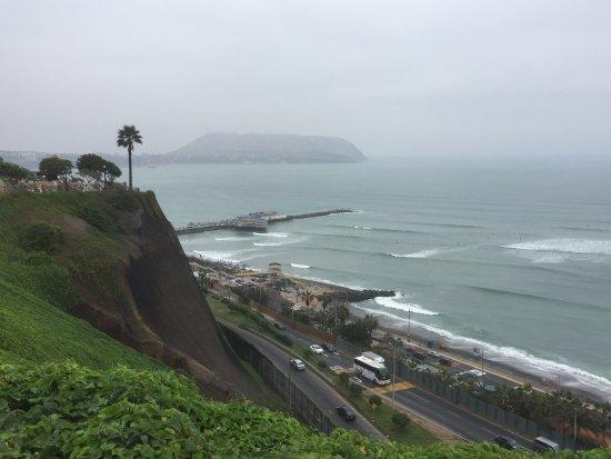 Arawi Lima Miraflores Hotel: Miraflores Coastal Area not far away