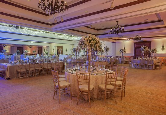 Costa Rica Marriott Hotel San Jose: Indoor Wedding Reception