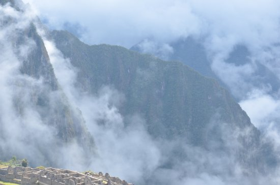 Private Tours Peru: View from Machu picchu