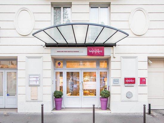 Mercure Paris Bastille Marais : Exterior