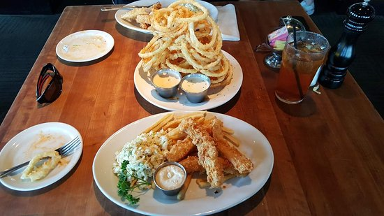 Fish Daddy 39 S Grill House Tulsa Menu Prices