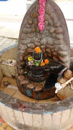 The Shiv Linga where devotees themselves do abhishek and