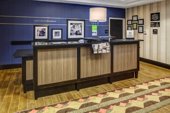 Thomson, GA: Front Desk