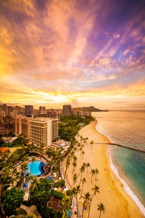 Hilton Hawaiian Village Waikiki Beach Resort: The Ali'i provides guests with exclusive amenities including its own lobby and check-in desk.