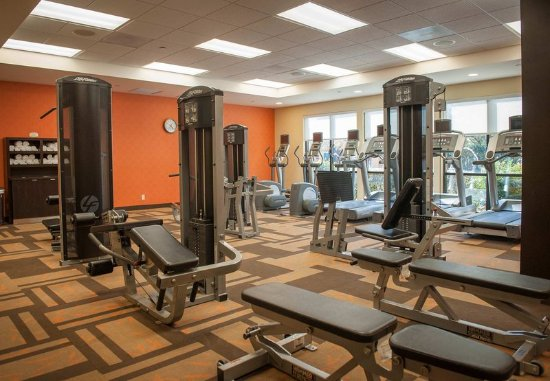 Courtyard by Marriott Pensacola Downtown: Fitness Center
