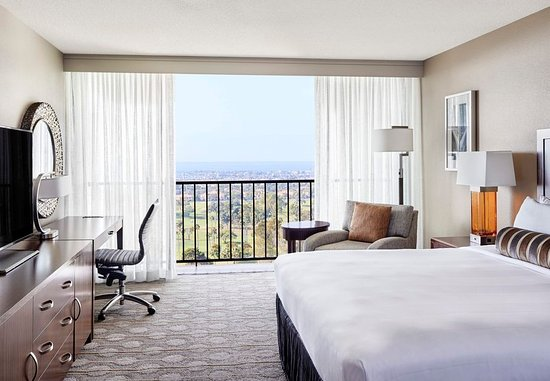 Newport Beach Marriott Hotel Spa Ocean View Room