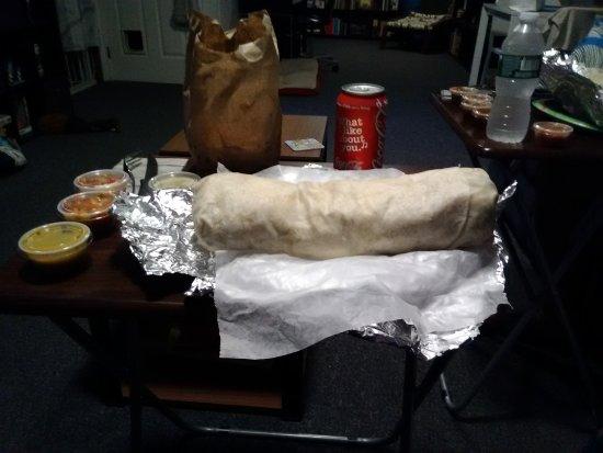 Valley Stream, NY: El Burrito Monster