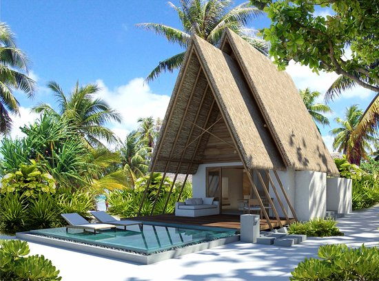 Lhaviyani Atoll: Guest Room - Beach Villa with Pool