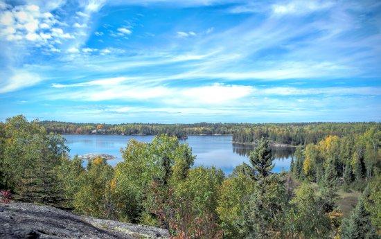 Voyageurs Nationalpark, MN: Peary Lake on Cruiser Lake Trail