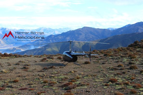 Hanmer Springs, Nueva Zelanda: Our favourite landing spot on the Rodgerson Spur, fantastic views too!