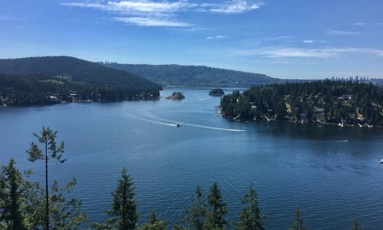 North Vancouver, Canada: View from Quarry Rock