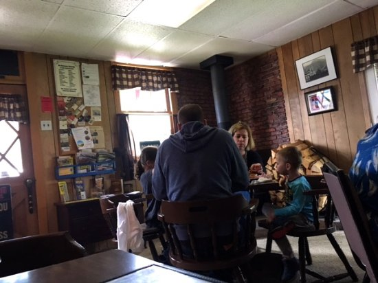 Kendall Mountain Cafe : Inside dining room