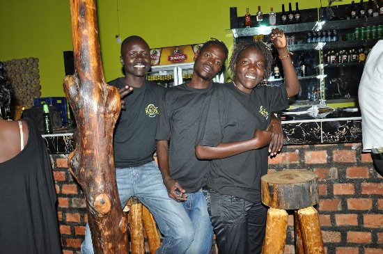 Kitgum, Uganda: our friendly staff ready to serve you