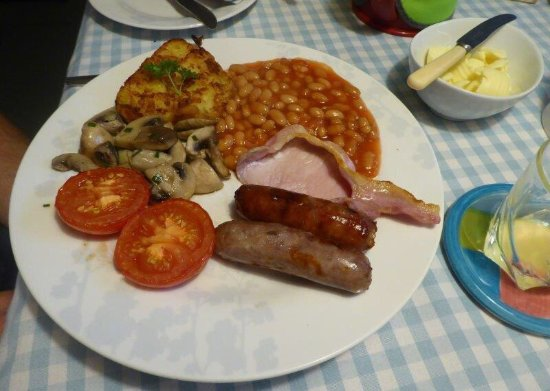 Strete, UK: Perfect breakfast