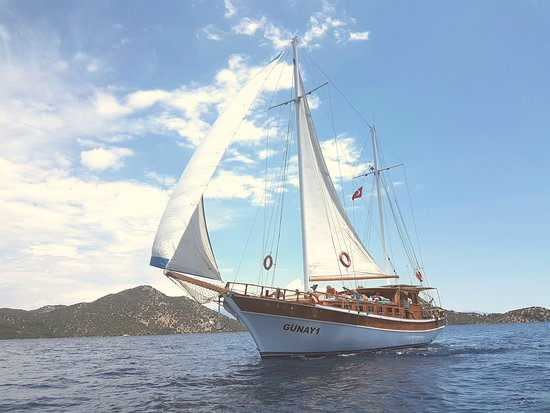 Günay 1 Sailing Gocek Turkey max 12 people eco-trips!