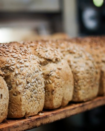 Hordaland, Norway: organic bread