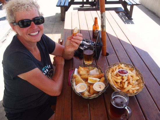 Waihau Bay, New Zealand: Lunch
