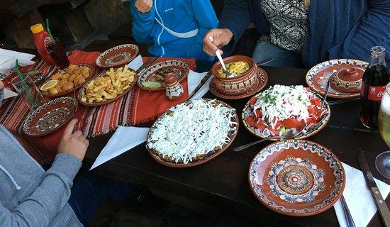 Shiroka Laka, Bułgaria: Lokal specialties from the Rhodopes