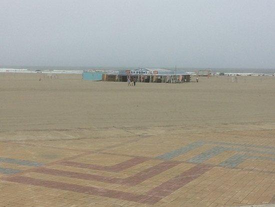 Hasaki Beach: ポツーンと海の家