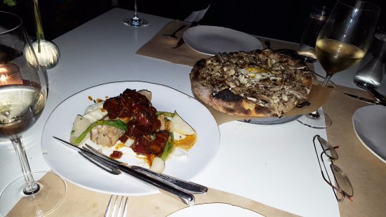 Pork Belly And Mushroom Pizza Picture Of Abc Kitchen New