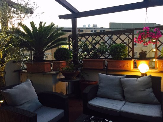 Althea Inn Roof Terrace: 1- Private Rooftop Terrace
