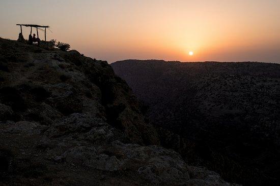 Дана, Иордания: The sunset