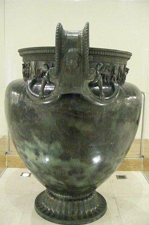 Le Vase Dit Cratre Photo De Trsor De Vix Muse Du Pays