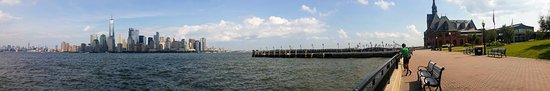 Hoboken Waterfront Walkway: Vue sur la Skyline