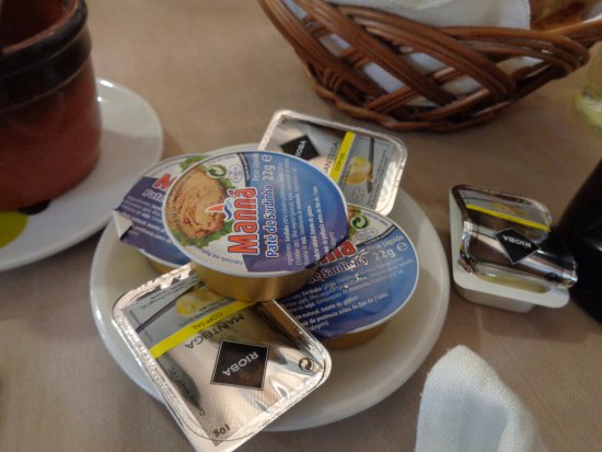Santa Clara a Velha, โปรตุเกส: Burro e salsa acciughe