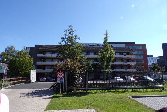 Campanile Hotel Gouda: Fachada del hotel