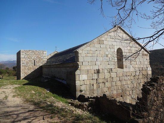 Ancienne Église Saint-Martin, Corsavy (Pyrénées-Orientales, Occitanie), France.