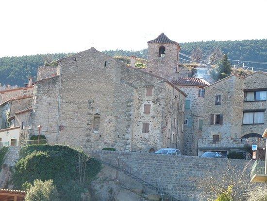 Église Saint-Martin, Corsavy (Pyrénées-Orientales, Occitanie), France.